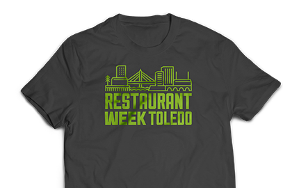 Restaurant Week Toledo Shirts